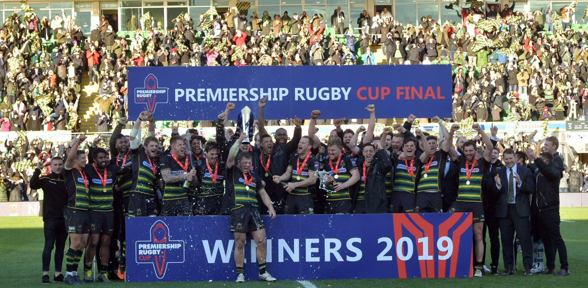 Pictures from the Saints cup final win over Saracens